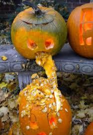 Vomiting Pumpkin Dip by 25 Puking Pumpkins Holytaco