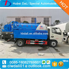 High Pressure Vacuum Truck Septic Tank Cleaning Truck - Buy Vacuum ...
