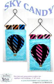 Southwest Decoratives Kokopelli Quilting Co by Air Balloons