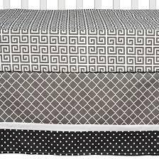 Trend Lab 3pc Crib Bedding Set – Ombre Gray Tar