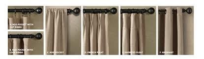 Restoration Hardware Curtain Rod Rings by Decorous Domus Diy Certain Curtain Separation
