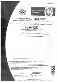 bureau veritas fr gmp bpam certificates can be used in organic agriculture