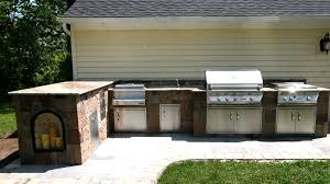 Pictures Of L Shaped Outdoor Kitchens