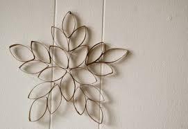 décoration en rouleaux de papier de toilette