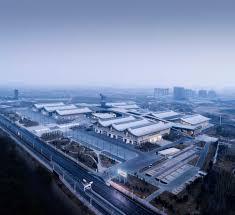 100 Birdview Gallery Of Shijiazhuang International Convention Exhibition Center
