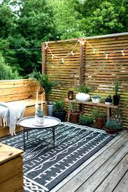 Apartment Deck Privacy Ideas Medium Image For Beautiful Patios And
