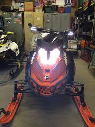 anyone running led headlights rev xr xs chassis 4 tec 1200