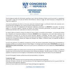 Congreso Guatemala On Twitter
