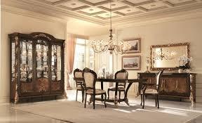 arredoclassic sinfonia esszimmer komplett stühle vitrine tisch barock rokoko