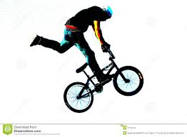 BMX Art 010 Stock Illustration Of Sport