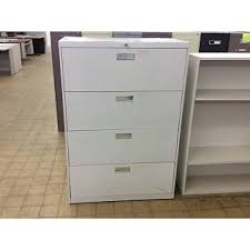 18x36x52 4 Drawer Light Violet Lateral File Cabinet ND Surplus