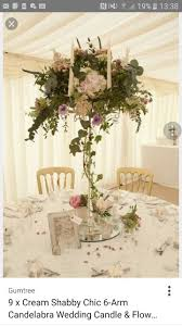 Shabby Chic Wedding Decorations Hire by 21 Best Candelabras Images On Pinterest Centerpieces Elegant