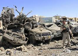 Taliban Detonate Truck Bombs In Central Afghanistan, 18 Killed | Reuters