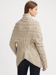 vince natural cableknit sweater coat product 2 7896035 180021786 jpeg