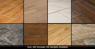 Porcelain Tile That Looks Like Wood Vs Hardwood Vinyl Floor Samples