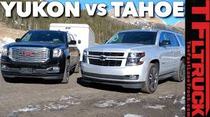 100 Yukon Truck 2018 Chevy Tahoe RST Vs GMC Vs The Worlds Toughest Towing