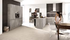 moderne einbauküche classica 1200 1240 betonoptik perlgrau