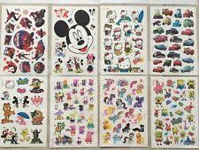Kids Cartoon Waterproof Body Temporary Tattoos Sticker Removable US Seller