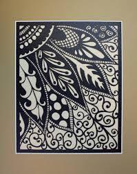 Simple Paper Cut Designs