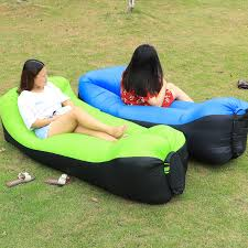 canap hamac rapide gonflable laybag air sac de couchage cing portable air