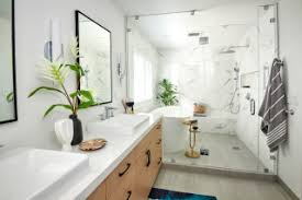 75 badezimmer mit nasszelle und eingebautem waschtisch