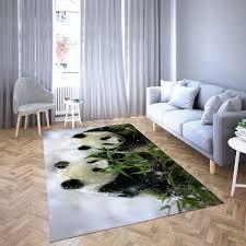 der panda isst sein lieblingsessen teppich wohnzimmer