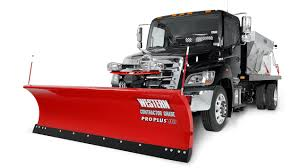 100 Pro Trucks Plus Western HD Straight Blade Snow Plow Snowplows
