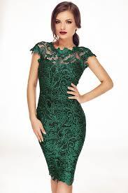 rochie tania verde smarald fashion killa emeralds and lace dress