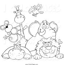 Pin Animal Kingdom Clipart Black And White 11