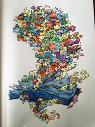 Doodle Invasion Zifflins Coloring Book Zifflin Kerby Rosanes By Sarah On May