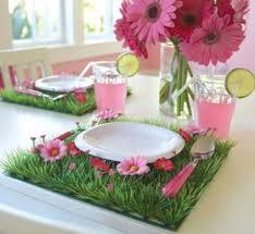 Simple Spring Party Decorating Ideas Diy Name Cardholders Are Made