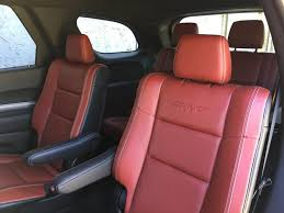 Dodge Durango Captains Seats by First Drive 2018 Dodge Durango Srt Ny Daily News