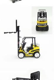100 Toy Forklift Truck Hot Selling Kids Metal Construction S