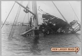 Pictures Of The Uss Maine Sinking by Of The Maine