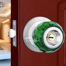 Door Lock Crystal Ball Stainless Steel Cheap