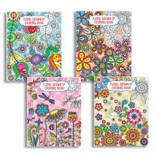 Floral Adult Coloring Books