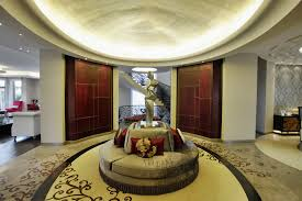 Round Foyer Table Entry Contemporary With Decorative Pillows Recessed Lighting Floor Design