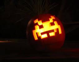 Pac Man Pumpkin Pattern by Tis The Season For Geeky Pumpkins Geekologie