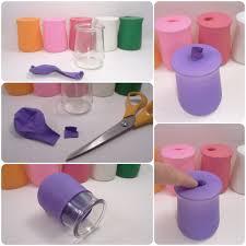 que faire avec des pots de yaourt en verre soliflore en pot de yaourt cémina kafé
