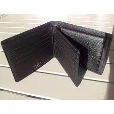 portefeuille louis vuitton florin noir toile enduite réf a104348