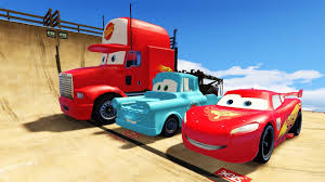 DISNEY CARS 2 Lightning McQueen And Friends Tow Mater Mack Truck ...