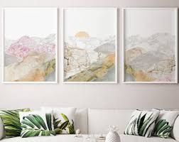 10 Save Mountain 3 Piece Art Decor Large Office Wall