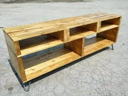 Tv Stand Diy Pallet Media Console And Rustic