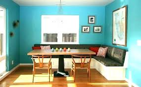 Dining Room Table With Bench Seat Showy Kitchen Upholstered Seating