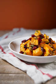 Toasting Pumpkin Seeds In Microwave by Holiday Roasted Pumpkin With Cranberries U2014 Broke And Cooking