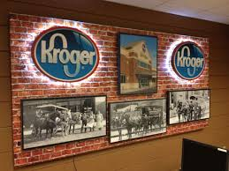 Kentucky Sign Specialists Create Inspirational Kroger Multi Media Brand Display On Gatorfoam Board