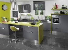 deco cuisine grise et agréable decoration cuisine gris et jaune decoration guide