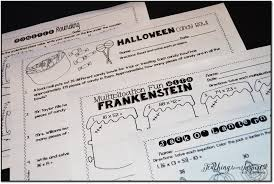Halloween Multiplication Worksheets Grade 3 by Halloween Activities And Ideas For Upper Elementary Teaching To
