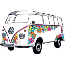 1962 Flower VW T1Samba Bus Wall Decal vw and combi Pinterest