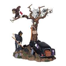 Lemax Halloween Village Displays by Amazon Com Dept 56 Halloween Village Haunted Hearse By